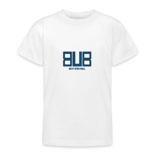 BUB - BLÅ - T-skjorte for tenåringer