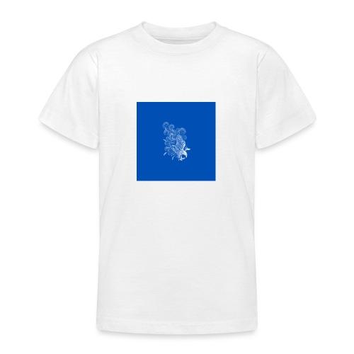 Windy Wings Blue - Teenage T-Shirt