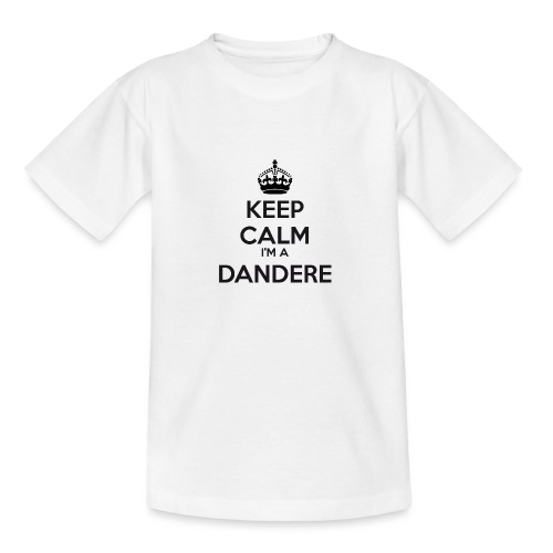 Dandere keep calm - Teenage T-Shirt