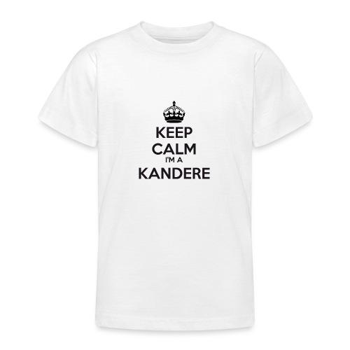 Kandere keep calm - Teenage T-Shirt