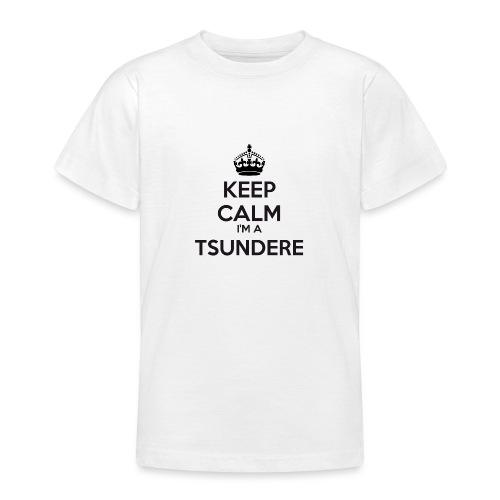 Tsundere keep calm - Teenage T-Shirt