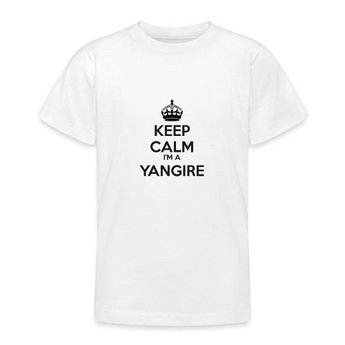 Yangire keep calm - Teenage T-Shirt