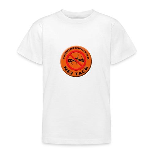 Taggtrådspolitik Ny - T-shirt tonåring