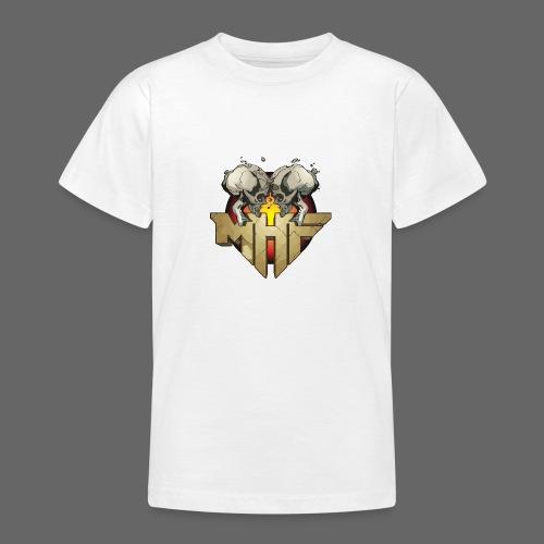 new mhf logo - Teenage T-Shirt