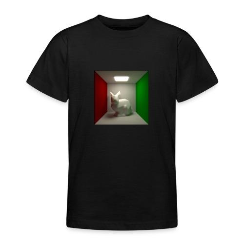 Bunny in a Box - Teenage T-Shirt