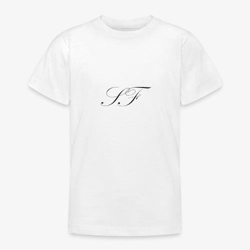 SF HANDWRITTEN LOGO BLACK - Teenage T-Shirt