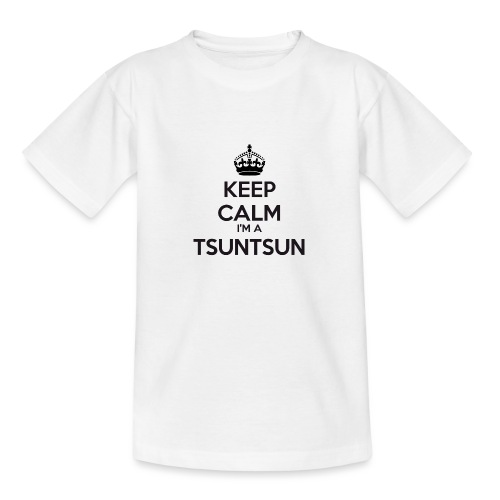 Tsuntsun keep calm - Teenage T-Shirt