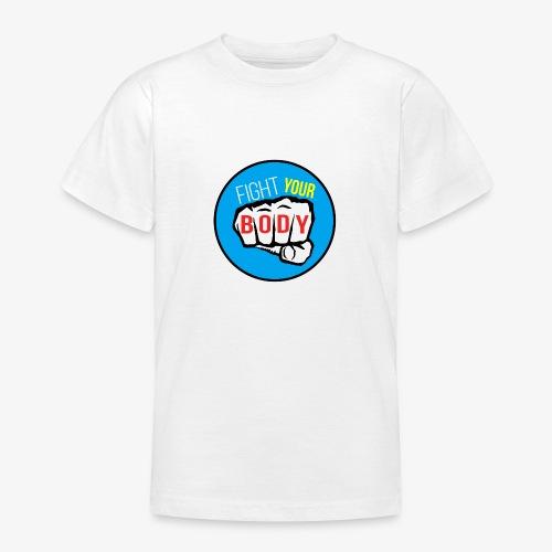 logo fyb bleu ciel - T-shirt Ado