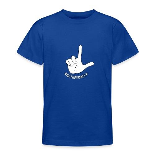 Dedo Big - #RetoPedaEla - Camiseta adolescente