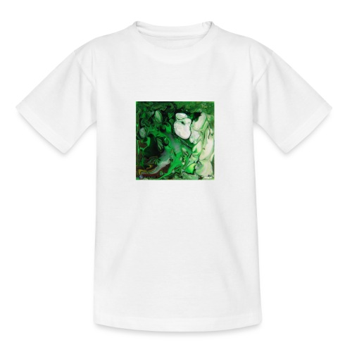 TIAN GREEN Mosaik DK017 - Hope - Teenager T-Shirt