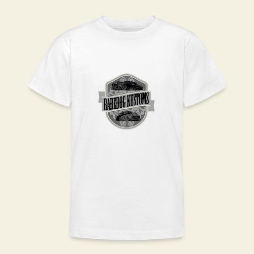 rd kustoms gray - Teenager-T-shirt