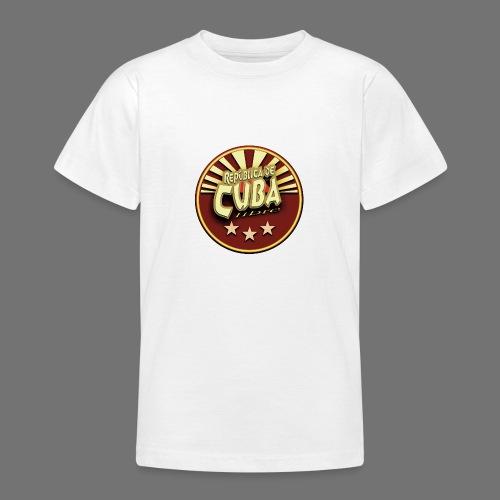 Republica De Cuba Libre - Teenager T-Shirt