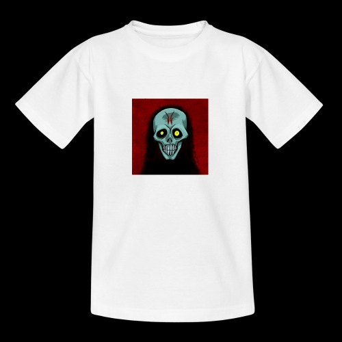 Ghost skull - Teenage T-Shirt