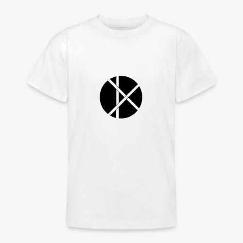 Don Logo - musta - Nuorten t-paita