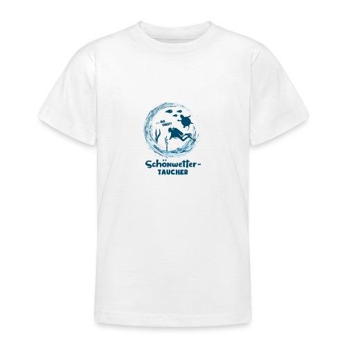 Schönwettertaucher - Teenager T-Shirt