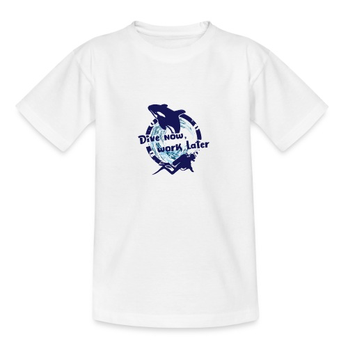 Dive Now - Teenager T-Shirt
