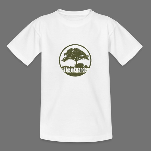 silent garden (green oldstyle) - Teenager T-Shirt