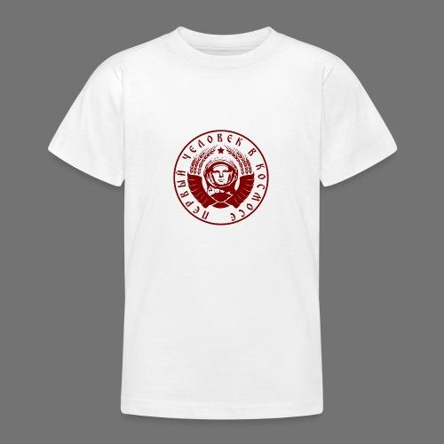 Cosmonaut 1c red - Teenage T-Shirt