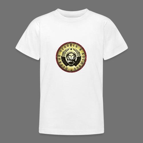 Kosmonautti 4c retro (oldstyle) - Nuorten t-paita