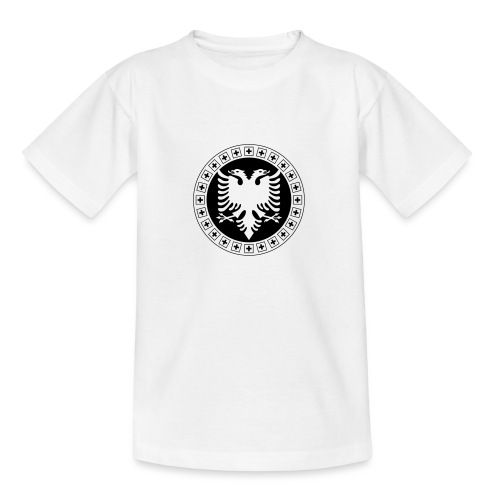 Albanien Schweiz Shirt - Teenager T-Shirt
