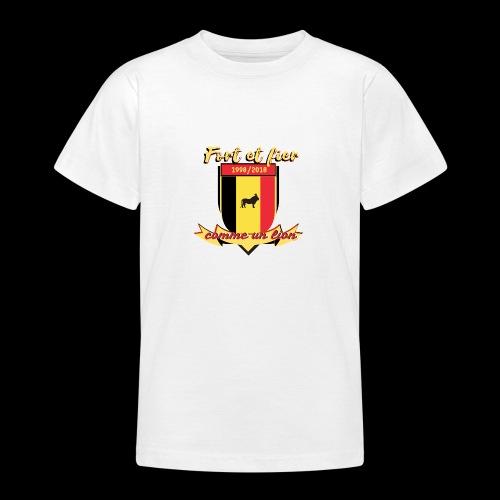 belgique foot coupe du monde - T-shirt Ado