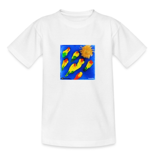TIAN GREEN Mosaik DK035 - Paradise - Teenager T-Shirt