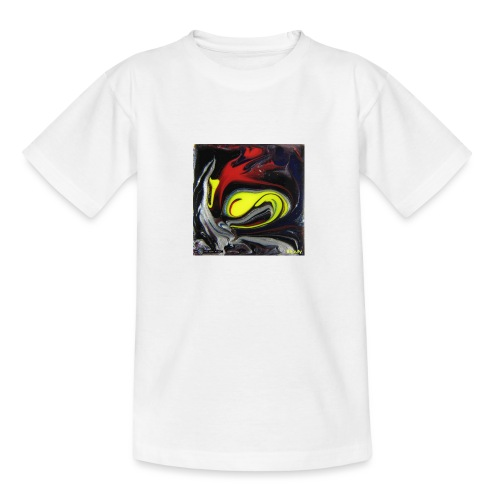 TIAN GREEN Mosaik DK039 - Beauty - Teenager T-Shirt