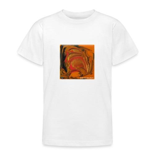 TIAN GREEN Mosaik DK040 - Ruhe vor dem Sturm - Teenager T-Shirt