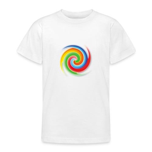 deisold rainbow Spiral - Teenager T-Shirt