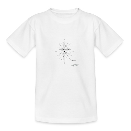 mathematique du centre_de_lunivers - T-shirt Ado