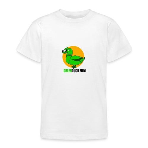 Greenduck Film Golden Sun Logo - Teenager-T-shirt