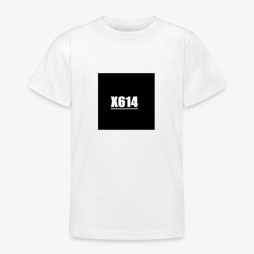 X614 logo - T-skjorte for tenåringer