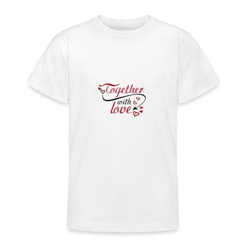 auguri San Valentino 01 - Maglietta per ragazzi
