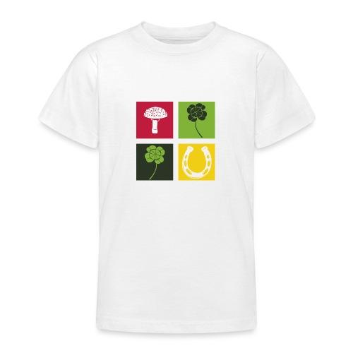 Just my luck Glück - Teenager T-Shirt