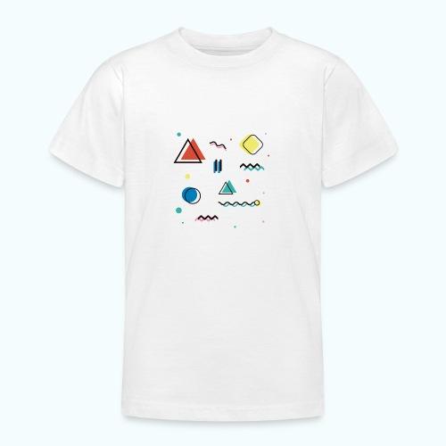 Abstract geometry - Teenage T-Shirt