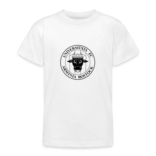 UFC Logo nur schwarz - Teenager T-Shirt