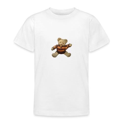 Teddybär - orange braun - Retro Vintage - Bär - Teenager T-Shirt