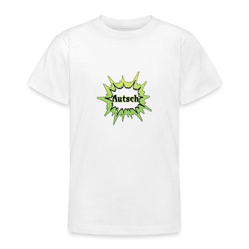 Comic Schrift Autsch - Teenager T-Shirt