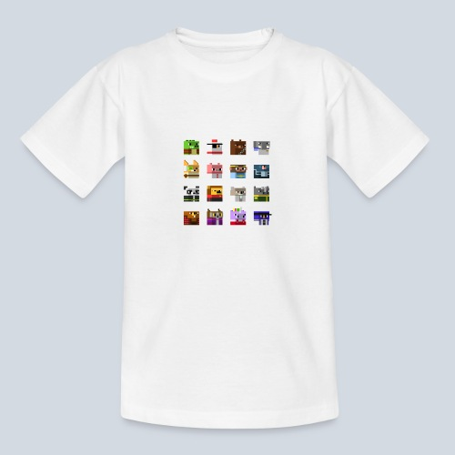 A Planet of Mine Animals - T-shirt Ado