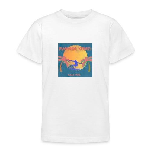 Summer vibes - Camiseta adolescente