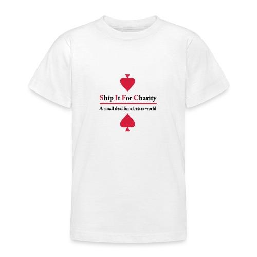 Ship It For Charity - T-shirt tonåring