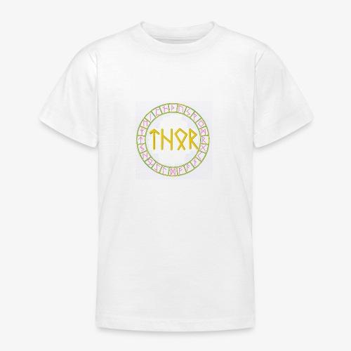 Wikinger - Name von Thor in Runen - Teenager T-Shirt