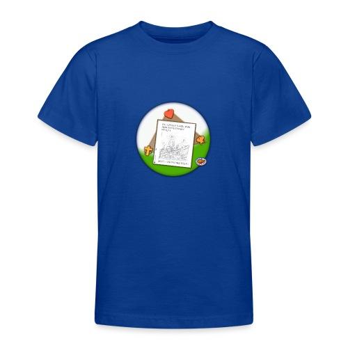 Petrus trifft Jesus - zu viele Fische ! - Teenager T-Shirt