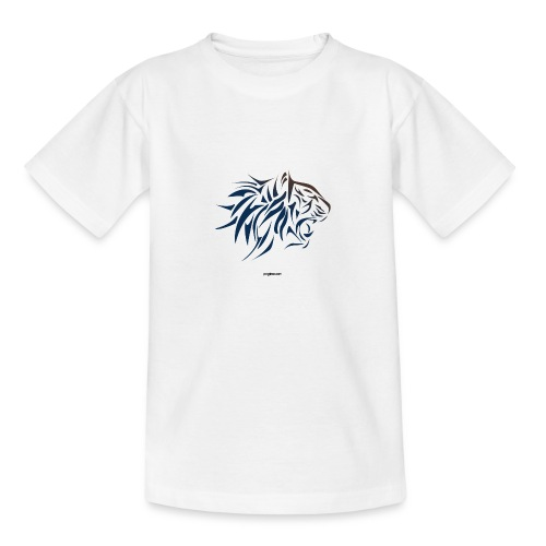 tiger vector - Camiseta adolescente