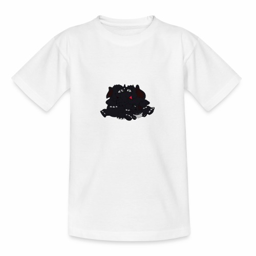 Black Big Family - Teenager T-Shirt