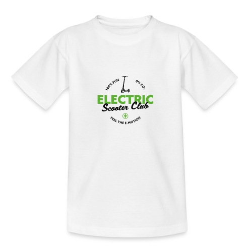 Escooter Club - Teenage T-Shirt