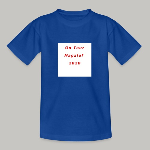On Tour In Magaluf, 2020 - Printed T Shirt - Teenage T-Shirt
