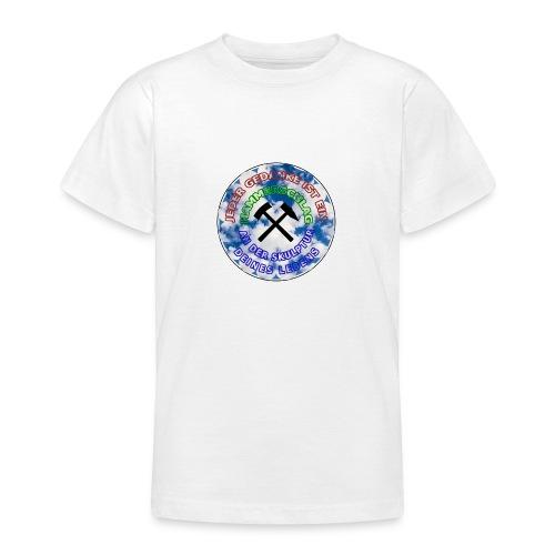 JEDER GEDANKE IST EIN hammerschlag - Teenager T-Shirt