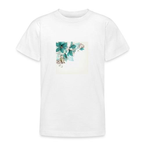 Tropical Flora - Teenage T-Shirt