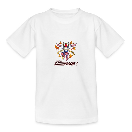 Ikki - J'suis un dingue - T-shirt Ado